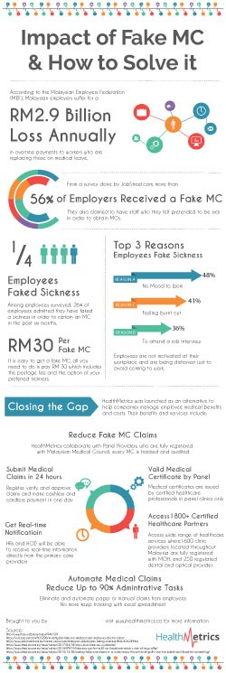 HealthMetrics Fake MC Infographic Preview